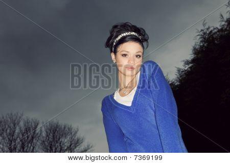 Girl In Outdoor Portrait