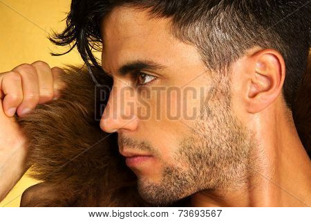 Caucasian Young Man Portrait