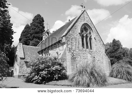 Small Chapel In Lyndhurst In The New Forest