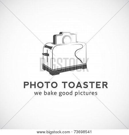 Photo Toaster Abstract Vector Logo Template