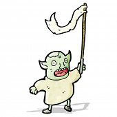 stock photo of goblin  - cartoon goblin - JPG