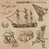 picture of buccaneer  - Pirates Buccaneers and Sailors  - JPG