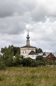 stock photo of paysage  - Church of Our Lady of Tikhvin - JPG