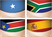 foto of south east asia  - Vector collection of flags - JPG