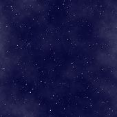 image of starry night  - the star night sky abstract cosmic seamless background - JPG