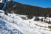 image of oz  - View on the Oz en Oisans Station in the French Alps - JPG
