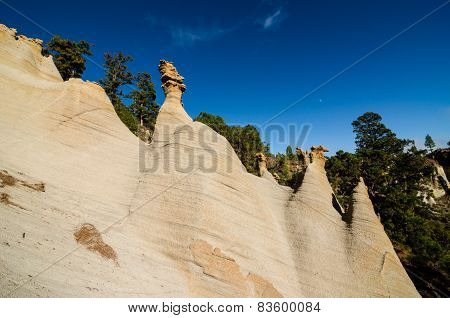 Rock Formations Paisaje Lunar