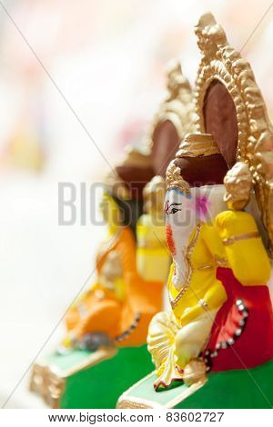 Lord Ganesha and Godess Lakshmi