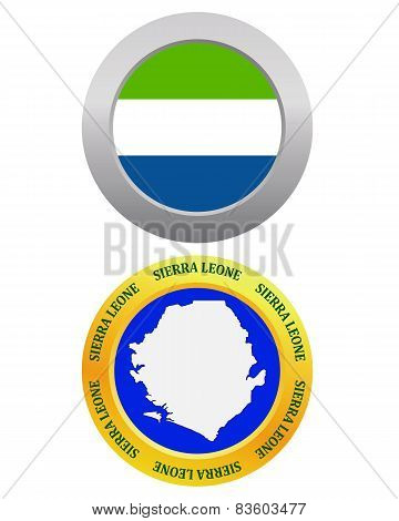 Button As A Symbol Sierra Leone
