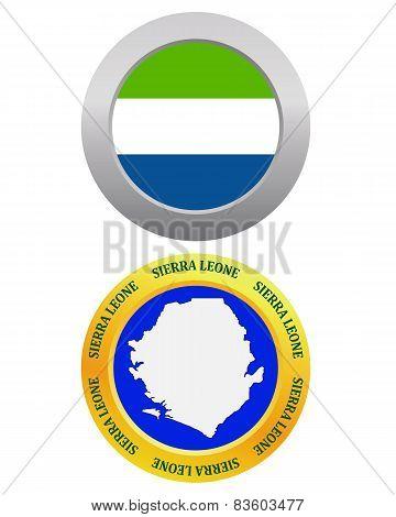 Button As A Symbol Sierra Leone