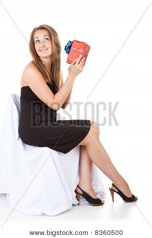 Pretty Girl Shake Her Gift