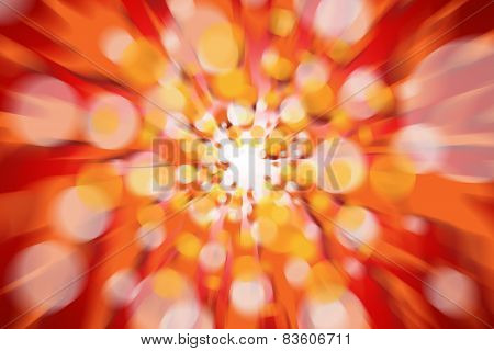 Fire Abstract Light Background