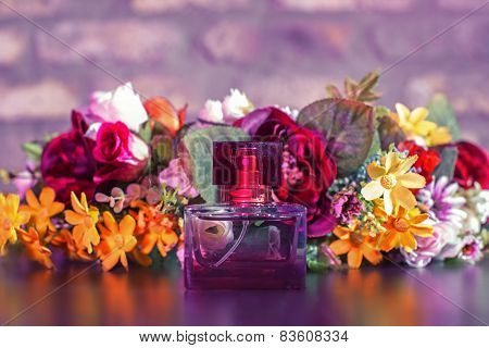 Women's Perfume In Beautiful Bottle