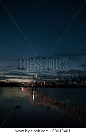 Rattanakosin suspension bridge