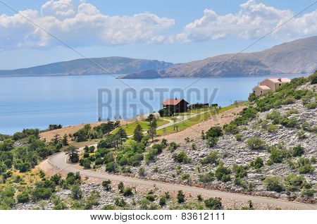Coastal Landscape Of Croatie
