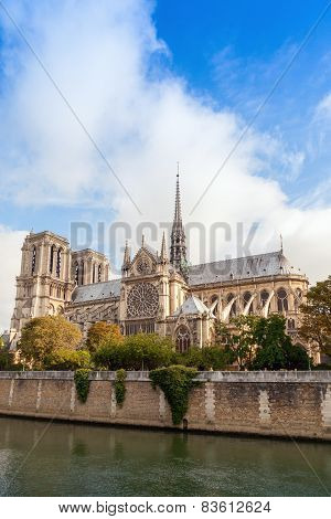 Notre Dame De Paris, Vertical Photo