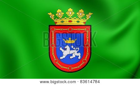 Flag Of Pamplona, Spain.