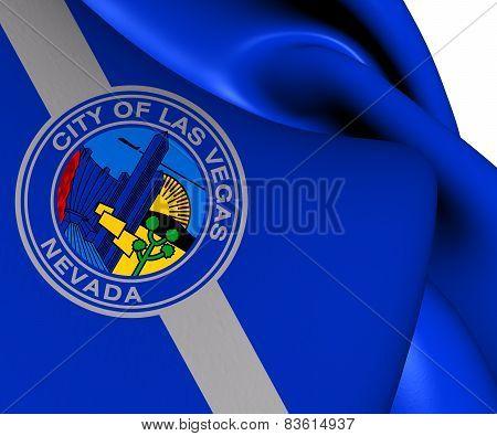 Flag Of Las Vegas, Usa.