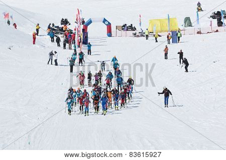 Ski Mountaineering Championships: Mass Start Race