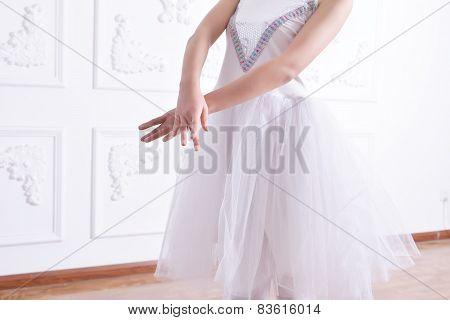 Ballet Arm Close-up