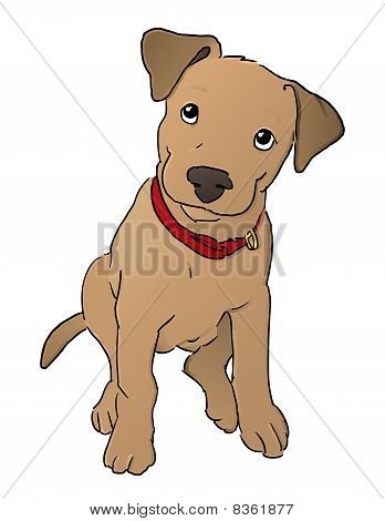 Puppy Cartoon Vector.eps