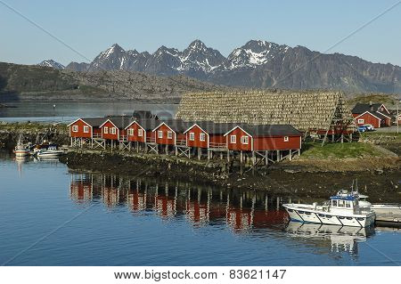 Mountain In Svolvaer, Lofoten, Norway