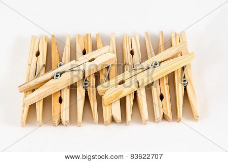 Clothespins Wooden