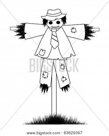 design scarecrow coloring