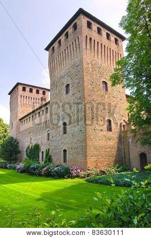 Castle of Castelguelfo. Emilia-Romagna. Italy.