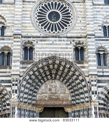 Genoa (italy), Cathedral