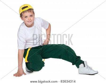 Dancing Young Boy