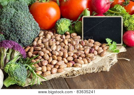 Pinto Beans And Vegatables