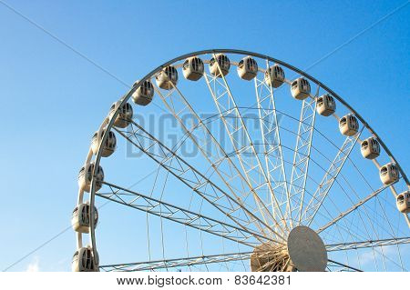 ferris wheel against