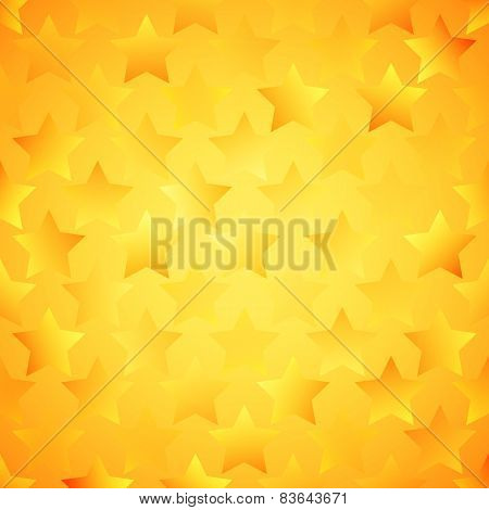 Abstract bright star wallpaper. Vector illustration