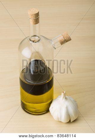 Vinegar Ond Olive Oil