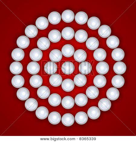 Pearls On Circles