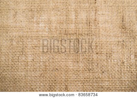 Hessian burlap cloth texture background