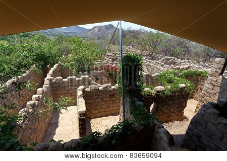 Maze, Labyrinth In Lost City, South Africa