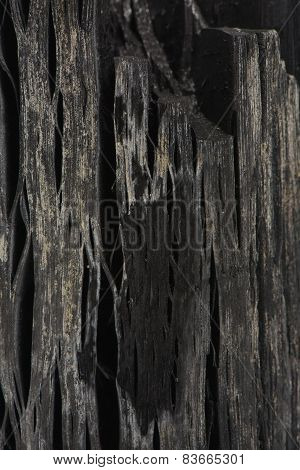 Macro Of Charcoal Surface