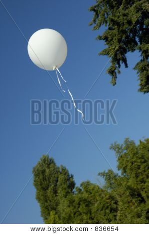 Escaped balloon