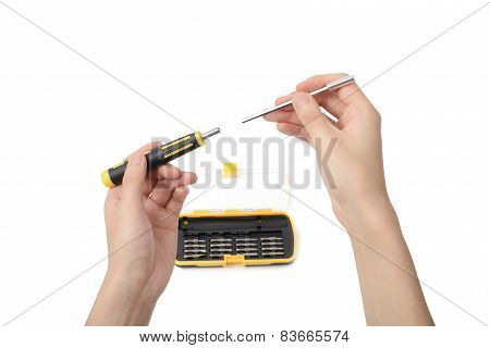 Hand Hold Variable Screwdriver