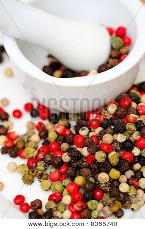 Spicy Rainbow Peppercorns