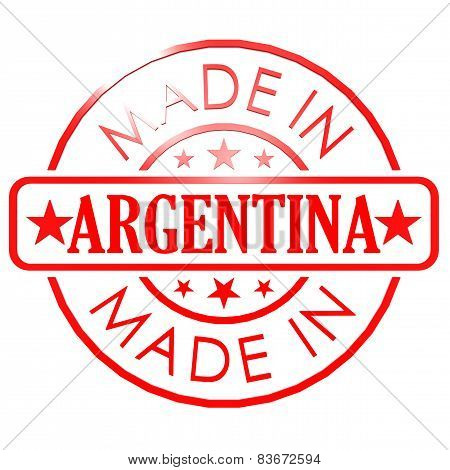 Made In Argentina Red Seal