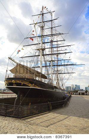 Cutty Sark In Greenwich, London