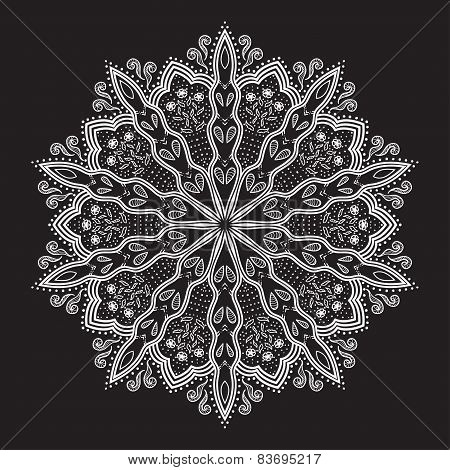 Beautiful Lace Ornament.