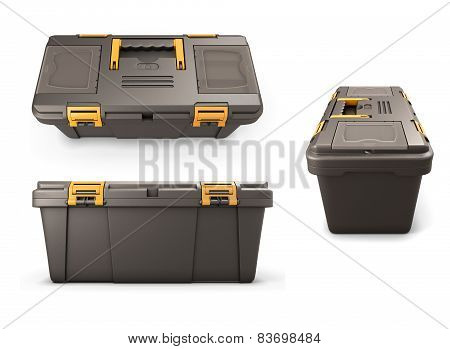 Tool Box From Different Angles