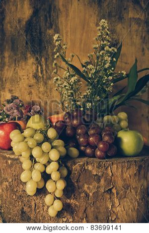 Still Life With Fruits.