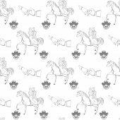 pic of encounter  - Vector seamless pattern for your design projects - JPG