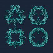 image of monogram  - Retro  Monogram Logos - JPG