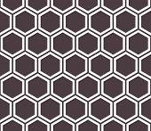 stock photo of honeycomb  - Honeycomb seamless pattern - JPG